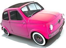 Pink Car Picture